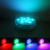 2.8 inch submersible led floral light for vase bottle decoration