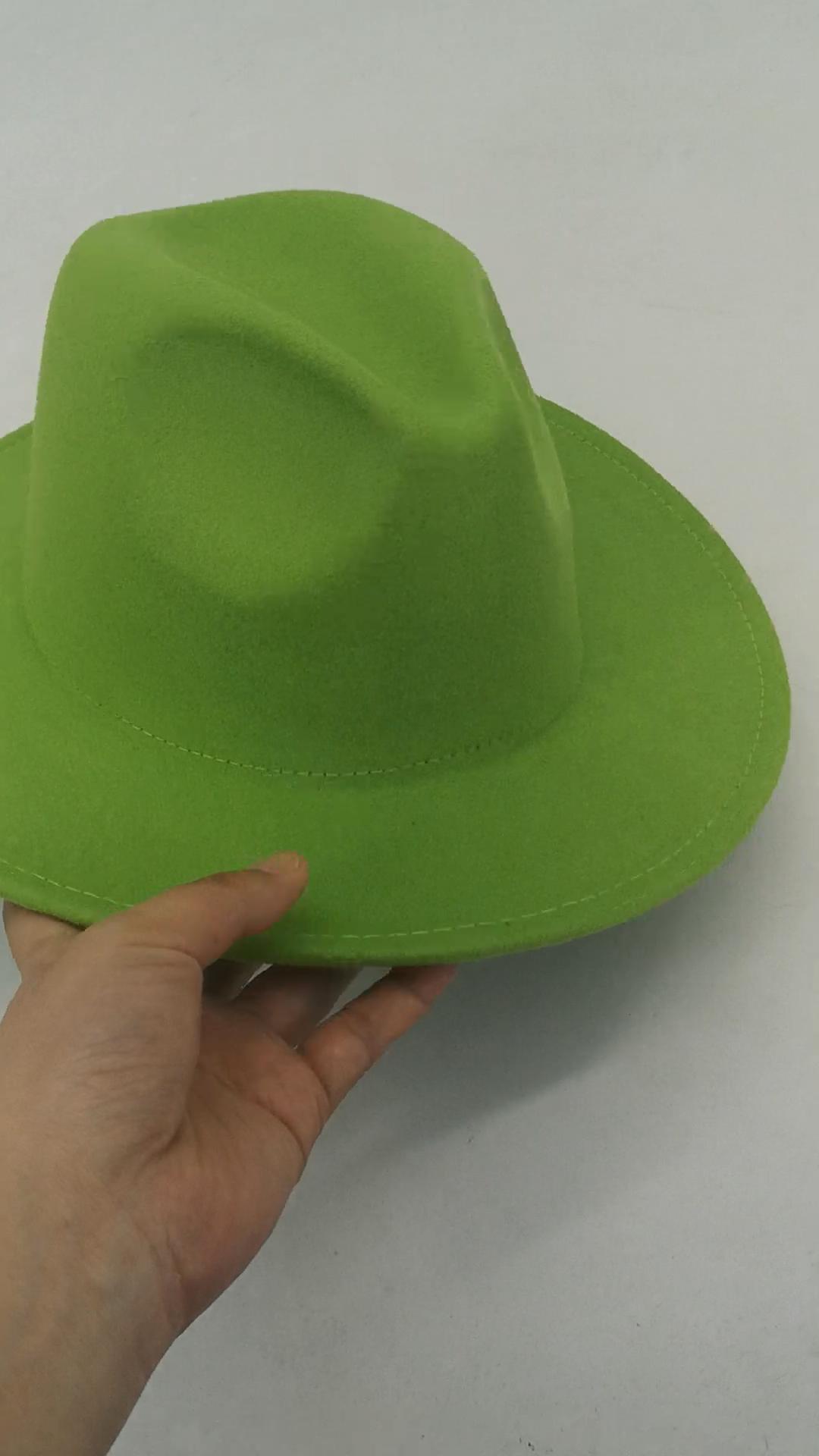 Fedora — chapeaux fédora personnalisés pour femmes, 2020, prix d'usine, mode printemps et été