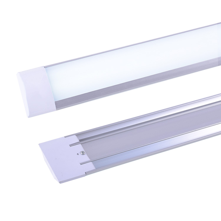 Competitive price 2ft frosted linear ceiling led batten tube light narrow led panel lighting fixture 2ft made in China