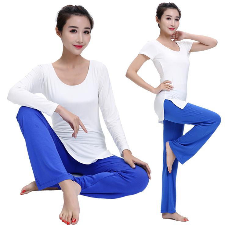 Vrouwen Oefening Bamboe Yoga Kleding Fitness Plain Sport Tops Biologisch Katoen Yoga Kleding Vrouw Yoga Top