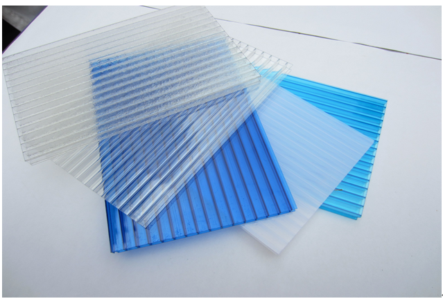 Blue Polycarbonate Board