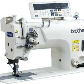 second hand Brother-8722 Computerized Drict Drive Double Needle Lockstitch industrial Sewing Machine in Good Condition