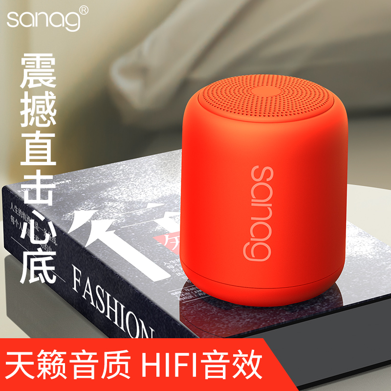 Dido-X6 Luar Ruangan Tahan Air Mini Portable Subwoofer Bluetooth Speaker