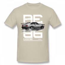Крутая футболка с изображением автомобиля AE86, аниме, футболка D Fujiwara Takumi HachiRoku, Мужская Футболка Harajuku, футболка с рождественским подарком, хл...(Китай)