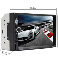 Cheap Price Double Din Car Radio MP5 Player 7'' HD Touch Screen BT Auto Electronic Radio Stereo