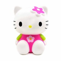 New custom kawaii pu foam squishies hello toys kitty cat animal squeeze toy for kids