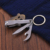Metal Nail Clipper Keychain nail clipper keychain with bottle opener function