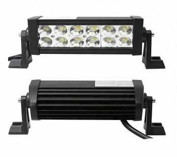 36W LED Work Light Bar OffRoad 8inch Flood Spot Beam for Truck 4x4 4WD SUV ATV Automobile Motorcycle