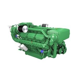 New 588kw Water-Cooled 12 Cylinders Doosan 4V222TI Marine Diesel Engine