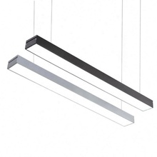 2019 Moderne Vierkante Led Lineaire Kantoor Licht <span class=keywords><strong>Hanger</strong></span> 590*20*80 9w led lineaire licht