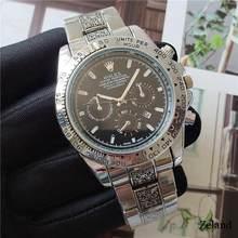 Топ люксовый бренд WINNER черные часы Мужские Женские повседневные мужские часы деловые спортивные военные часы из нержавеющей стали 586(China)