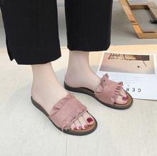 Женские шлепанцы на плоской подошве, модные сандалии на плоской подошве, домашние тапочки, роскошные женские дизайнерские туфли(Китай)