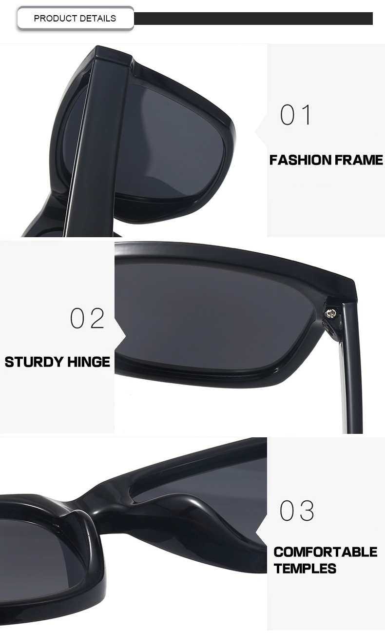 Fuqian custom flip up sunglasses Supply for men-7