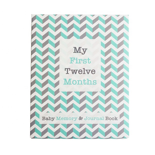 Custom full color print first year baby memory <strong>book</strong> and baby journal