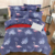 Hot selling plush shagg-y duvet cover marble bedding set comforter