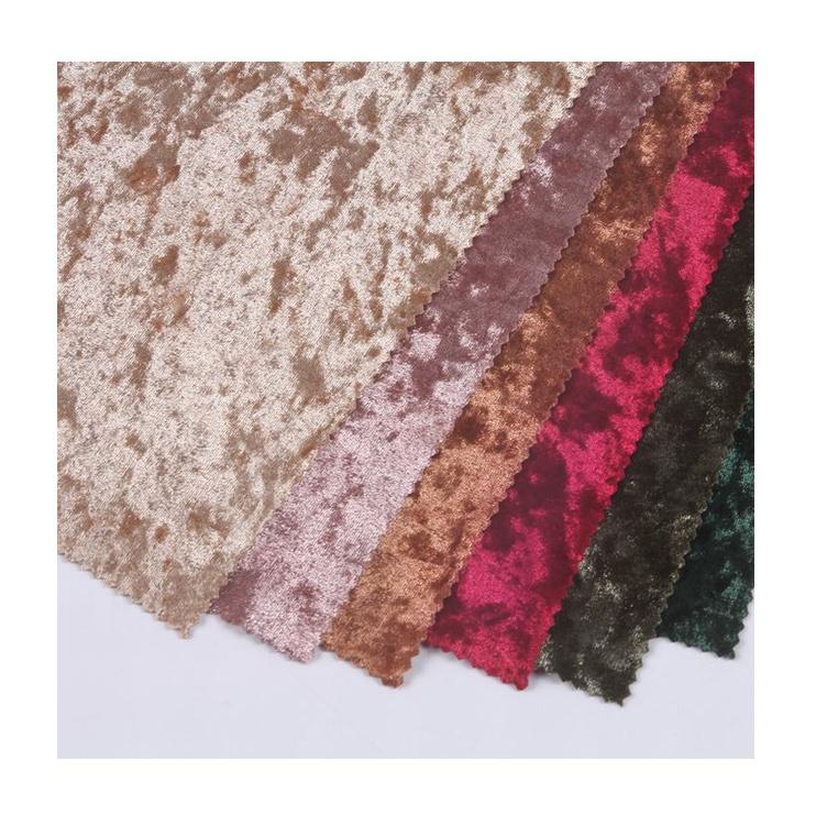 New textiles 150D embossed velvet fabric online velour korean velvet fabric