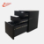 Chinese famouse key-maker supplies passwor lock Arc shaped office cabinet full steel material with three drawers used in offices