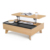 Living Room Multifunctional Center Table Design Wooden computer lift up Coffee Table