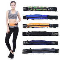 RTS outdoor Cell Mobile Phone Pouch belt running Adjustable fitness trendy travelling chest bum bag sport waist bag for unisex