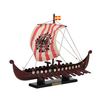 "Wooden ""DRAKKAR OSEBERG"" Viking Ship model,sailing boat,Nautical Souvenir,Navy,Promotional gift,maritime,home Decoration"