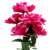 Yiwu supplier wholesale cheap 7 heads plastic funeral flower for grave