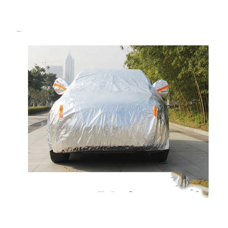Polyester brandwerende auto cover stof voor auto SCC-250