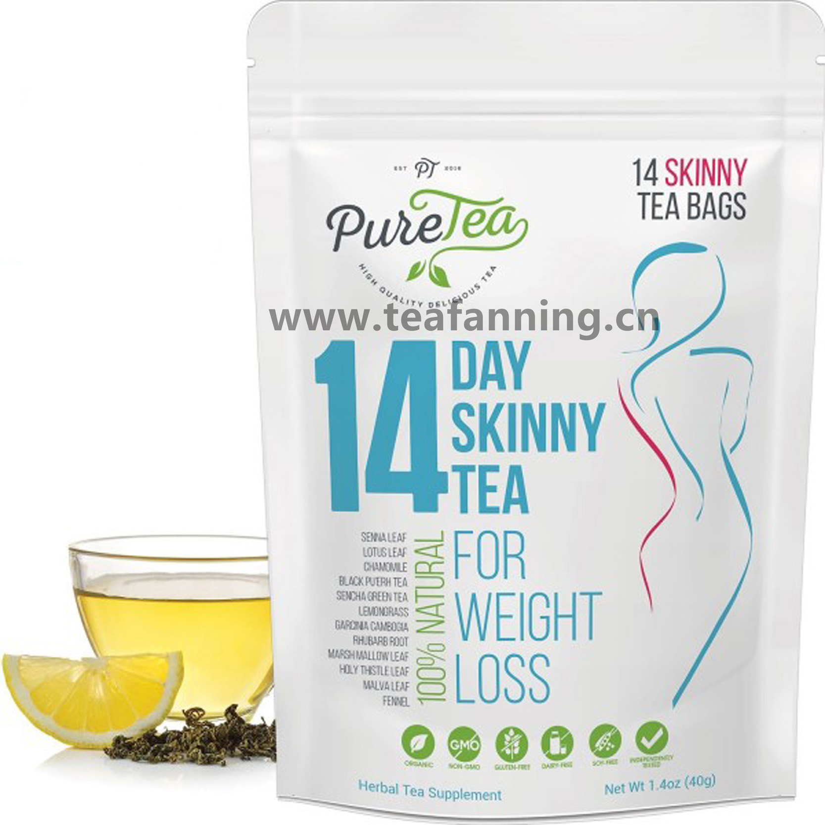 wholesale detox slim tea Private Label 14 days 28 days Weight Loss Tea,waist slim tea - 4uTea | 4uTea.com