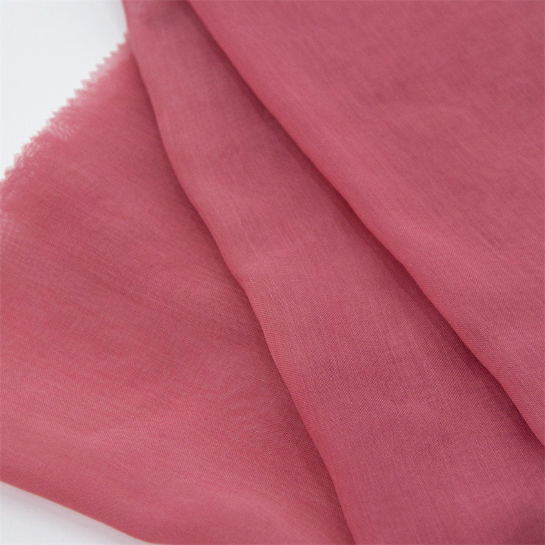 50S 1750T 50~75gsm best quality 100% polyester dyeing fabric for muslim hijab scarf women hijab