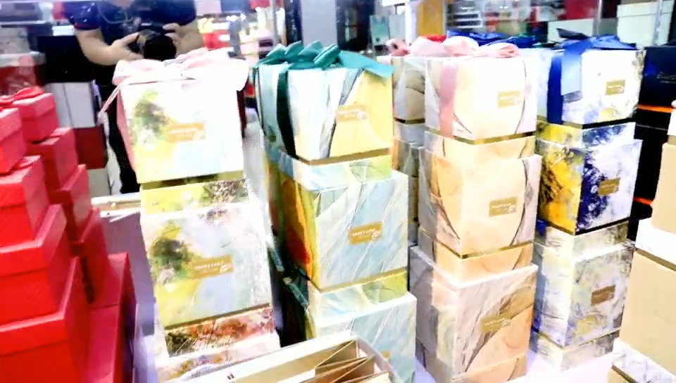 Alta qualidade marbling padrão impresso quadrado três-pedaço Caixa de Chocolate caixas de presente Rosa flor Presente