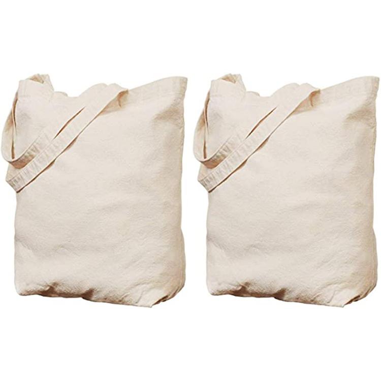 مصنع مخصص شعار مطبوع رخيصة حمل التسوق قماش عادي بقالة الخضار التعبئة والتغليف حمل ريوزابل حقائب قطنية