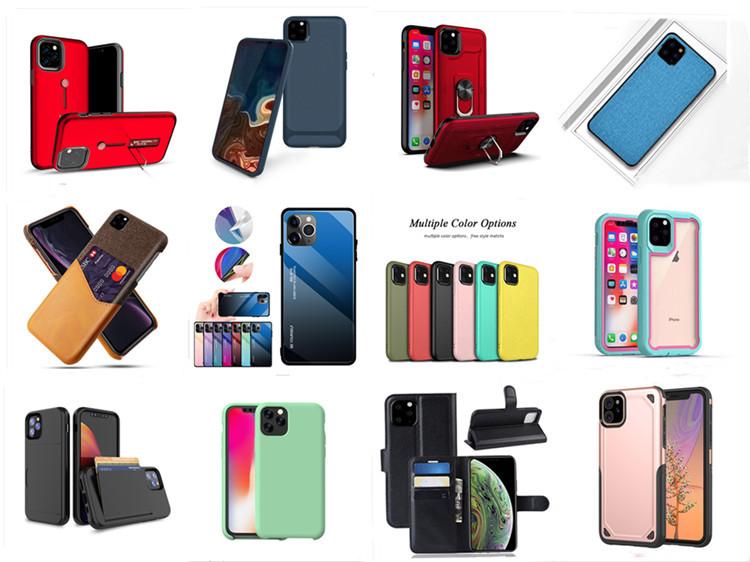 Per Il Iphone 11 Pro Max Delle Cellule di Copertura Mobile Su Misura Trasparente di Tpu Accessori Oem Cassa Del Telefono Trasparente