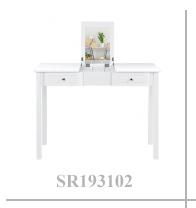 Modern fantezi ev ahşap ev ahşap tuvalet masası setleri yatak odası mobilyası