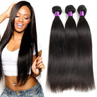 Wholesale Vendor Straight Weave Extension Raw Mink Brazilian Cuticle Aligned Virgin Human Hair Bundles