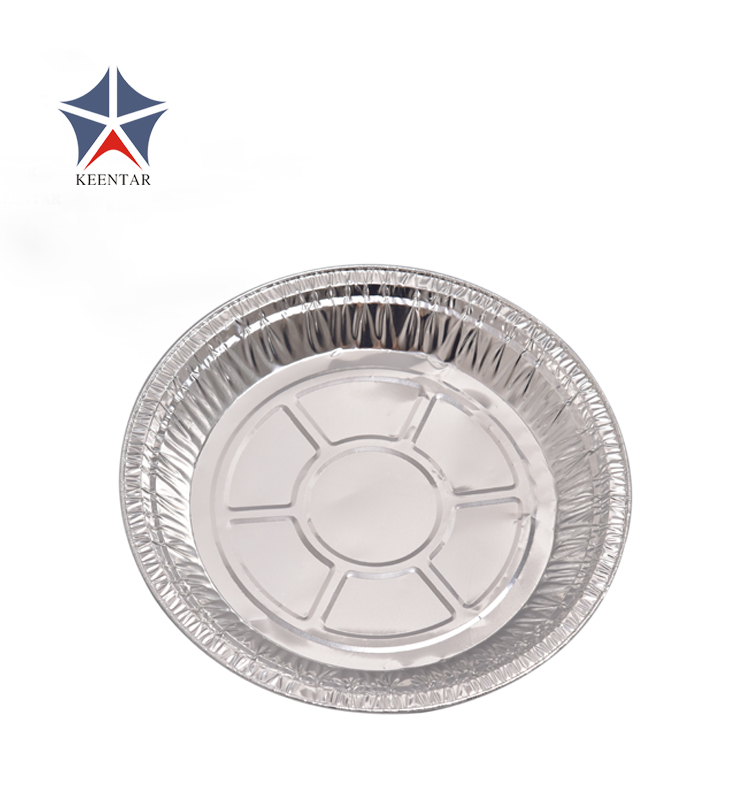 Disposable Round Aluminum Foil Plate For Cake Bakery