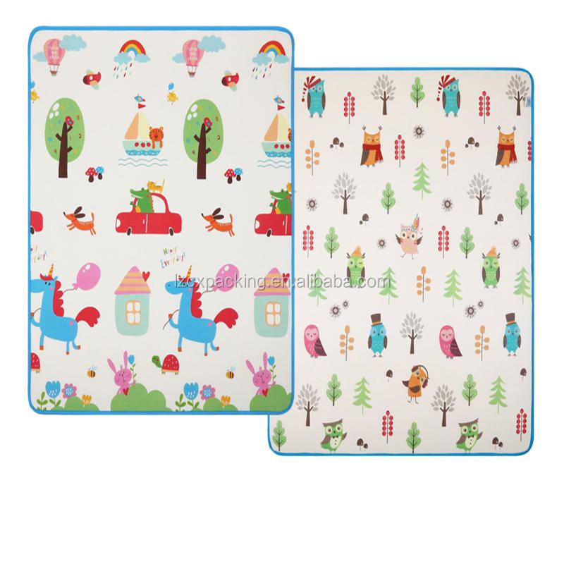 Baby Kids Animal Foam Play Mat Folding Xpe Puzzle Play Mat ...