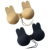 HSZ-AB007 Hot Sale Rabbit Ears Pattern Silicon Bra Push Up String Invisible Strapless Backless Bra For Women