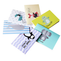 Custom Hot Sell Cardboard Children Greeting/thank You Card Paper Card Printing