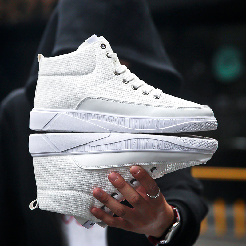 PDEP hot sale cheap high quality anti-slip rubber outsole casual height increasing shoes for men elevator shoes for men
