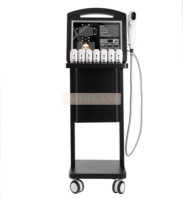 4D Ultra Anti-aging Face Lifting Machine with One Shoot 12 Lines