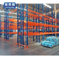 High quality 4 layer shelves storage pallet racking racks for warehouse