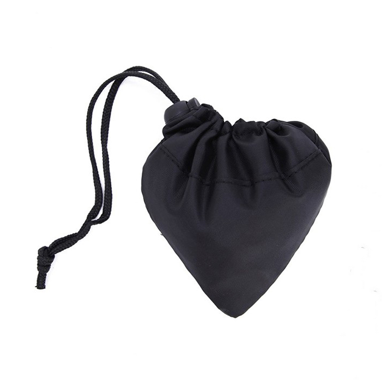 Factory Price Fast Delivery Polyester Folding Tote Waterproof Fruit Strawberry Nylon Foldable Shopping Bag / folding bag