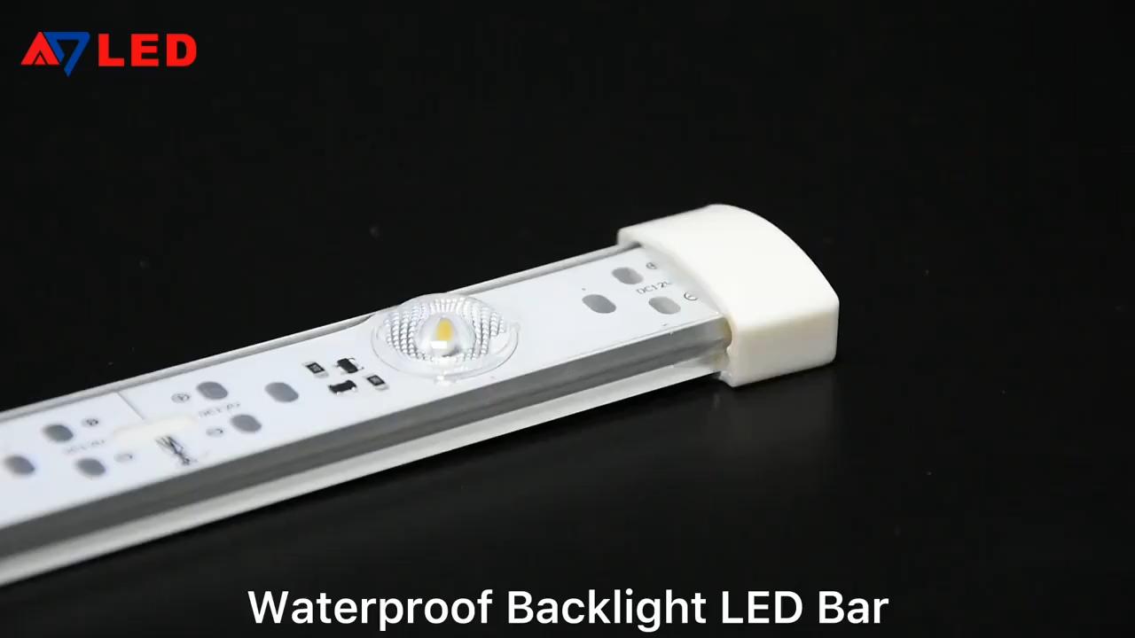 저렴한 LED 라이트 바 LED TV 백라이트 DC 12V 24V 16.8w 흰색 방수 LED 라이트