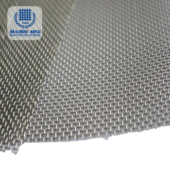ISO certification 316 stainless steel wire mesh