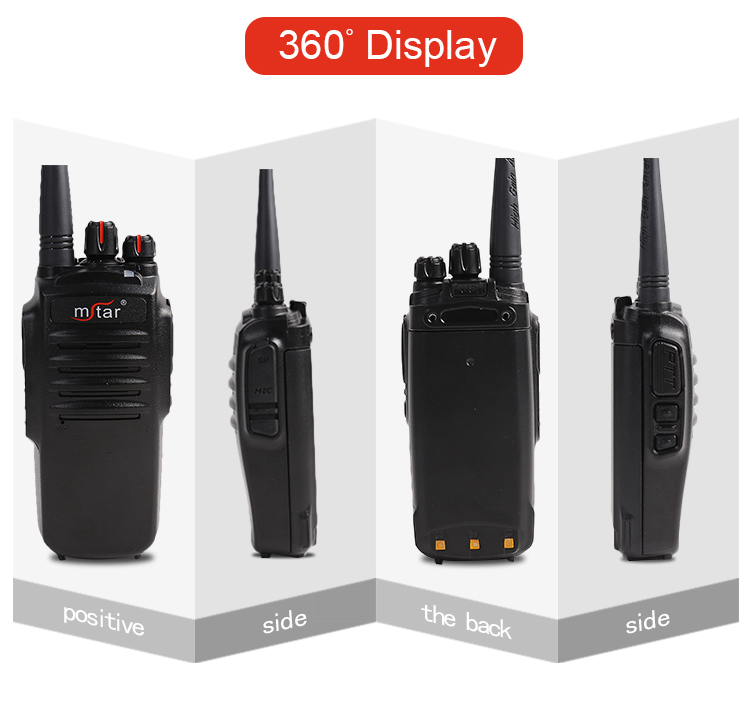 Mstar 2018 new DMR M-8800 Walkie Talkies Voice Scrambler with Earpiece for Adults Outdoor CS Hiking Hunting Travelling Long Dist