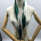 wholesale 90 x90 oem womens silk wool blend scarfs scarves with velvet