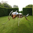 Metal Ant Metal Metal Art Metal Art Giant Ant Sculpture For Outside Stainless Steel Park Decoration