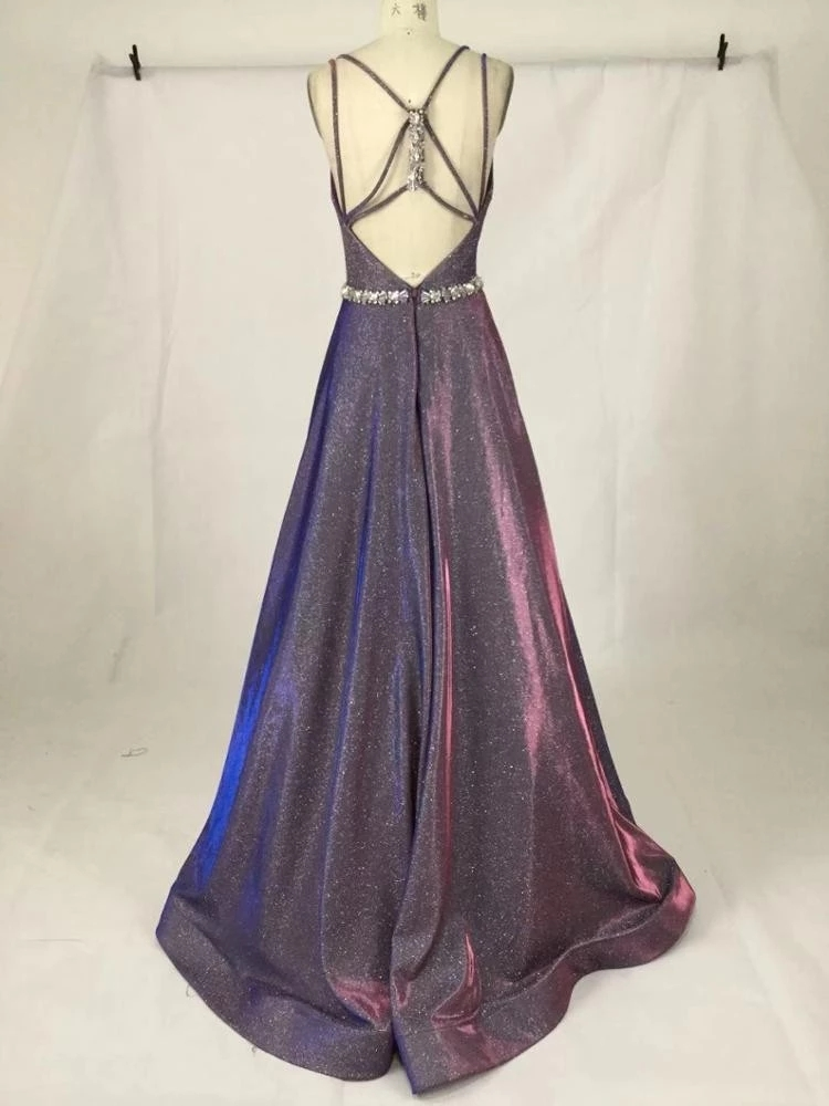 2019 Prom Dress Satin Elegant luxury  Evening Party Gowns  Long Women Formal Dress