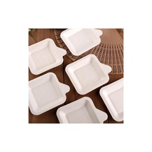 Umweltfreundlich Recycling kompostierbar zellstoff form bagasse <span class=keywords><strong>catering</strong></span> griff papier trays