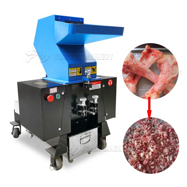 Rvs animal bone crusher/kip bone grinder machine/bone verpletterende machine