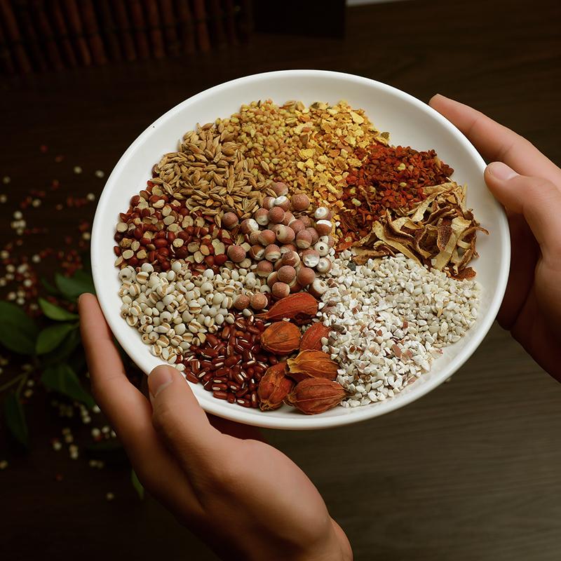Chinese herbal medicine slimming tea flat belly detox mixed red bean health tea - 4uTea | 4uTea.com